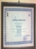 Ain Shams Vice Dean Certificate of  Appreciation