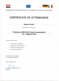 GLP Training