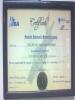 Certificate of  Medical Informatics Diploma / U.S.A.