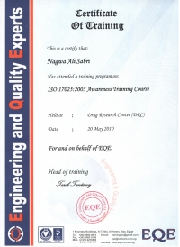 ISO 17025-2005 Awareness Training Course