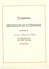 GCP Certificate (Lab Manager)