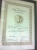 Syndicate Certificate of Appreciation